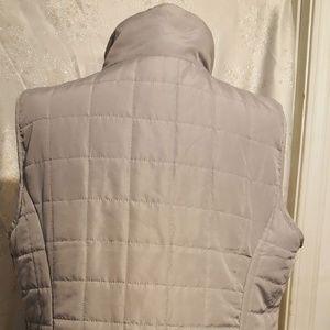 Ashley Stewart Jackets & Coats - Ashley Stewart Size 14/16 Gray vest